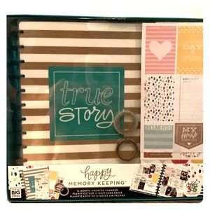 New Happy Memory Keeper Planner Box Kit